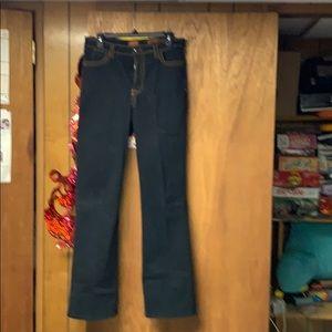 NYDJ dark denim jeans